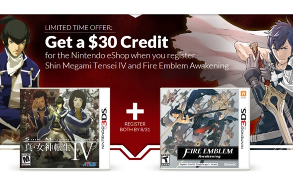 Nintendo Promotion Offers $30 in eShop Credit