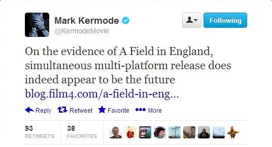 Kermode Tweet