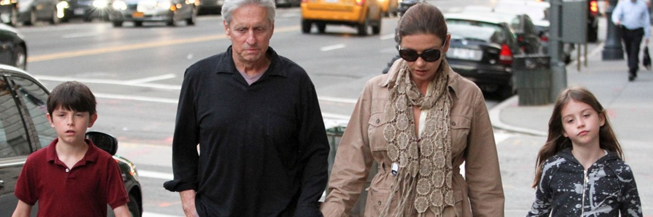 Hollywood Couple Catherine Zeta-Jones and Michael Douglas Appear to be Over