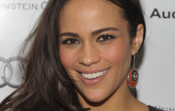 Paula Patton talks about her Husband's Performance with Miley Cyrus at the VMAs