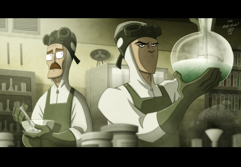 Breaking Bad by Otis Frampton