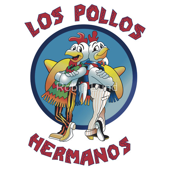 breaking bad pollos hermanos  t-shirt