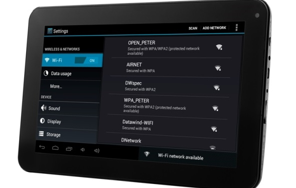 Datawind Releases $38 Tablet called the UbiSlate